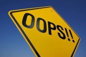 Les 3 erreurs a éviter lorsqu'on se lance sur le web