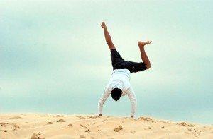L'équilibre pour trouver le bonheur