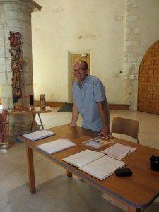 Robert Goron, retraité et entrepreneur