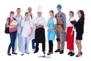 Les différents salaires des métiers du travail à domicile en 2016
