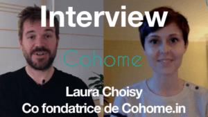Interview de Laura Choisy qui nous présente le site Cohome.in