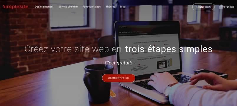 simplesite pour faire un site Internet en quelques minutes