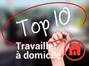 Le Top 10 des articles www.travailler-a-domicile.fr