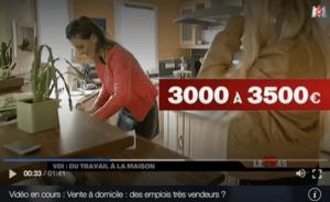 Vu sur M6 : Vente à domicile, des emplois très vendeurs ?
