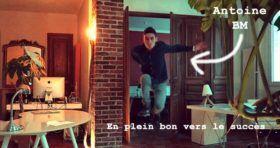 Croire en soi et s'(en)amuser : à la source du succès d'Antoine BM