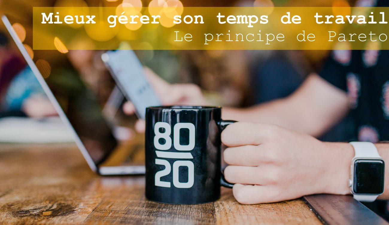 gérer son temps 80-20 café travail