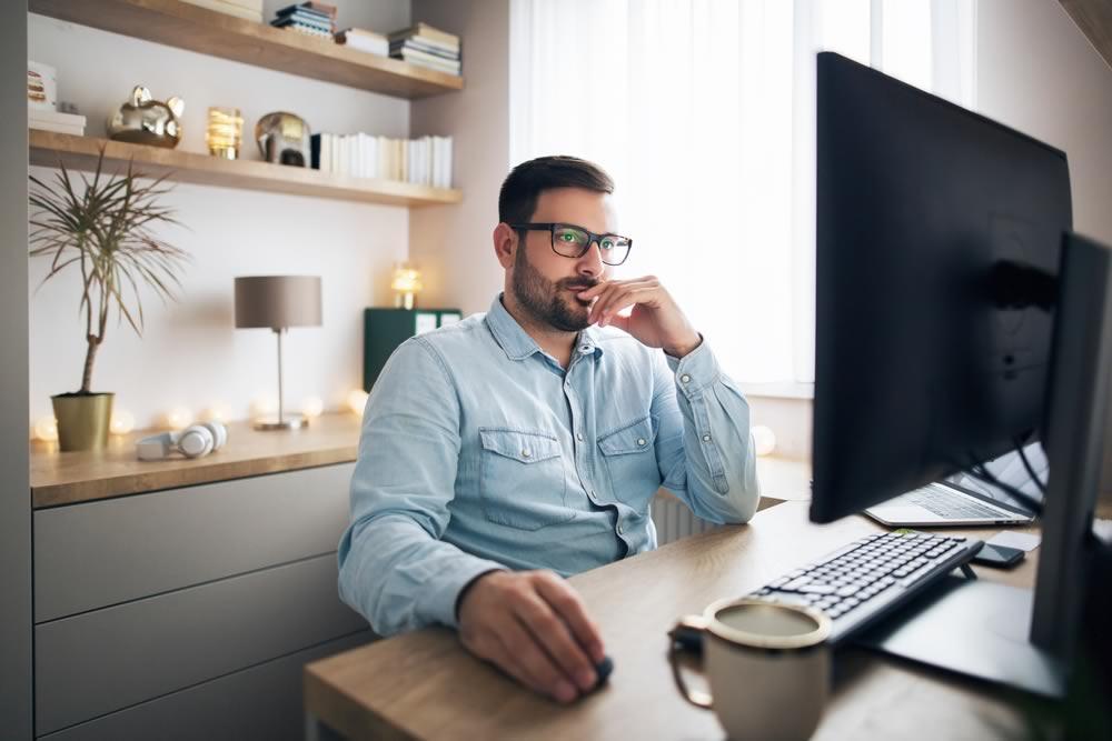 travailler de manière efficace, devant son ordinateur par exemple